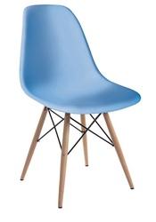 Пластиковый стул  Тауэр Вуд,  цвет голубой